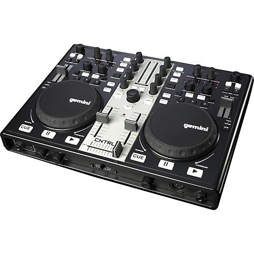 Gemini CNTRL-7 USB/MIDI DJ Mixer & Controller with Sound Card