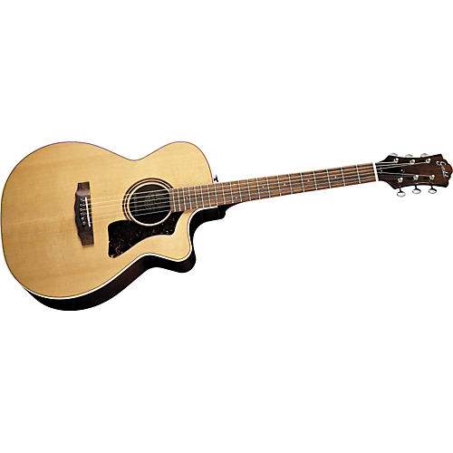 guild co 1c cutaway acoustic electric guitar musician 39 s friend. Black Bedroom Furniture Sets. Home Design Ideas