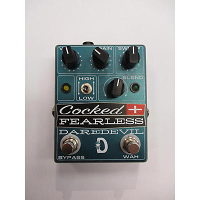Daredevil Pedals COCKED AND FEARLESS Effect Pedal