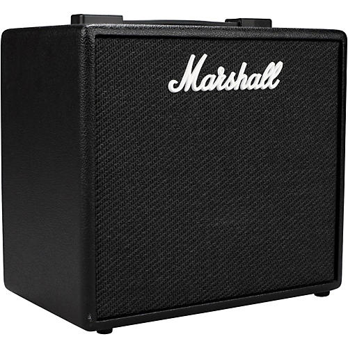 marshall code 25w 1x10 guitar combo amp black musician 39 s friend. Black Bedroom Furniture Sets. Home Design Ideas