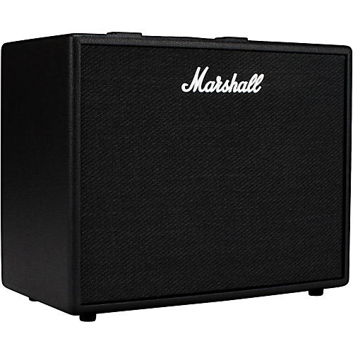 marshall code 50w 1x12 guitar combo amp black musician 39 s friend. Black Bedroom Furniture Sets. Home Design Ideas