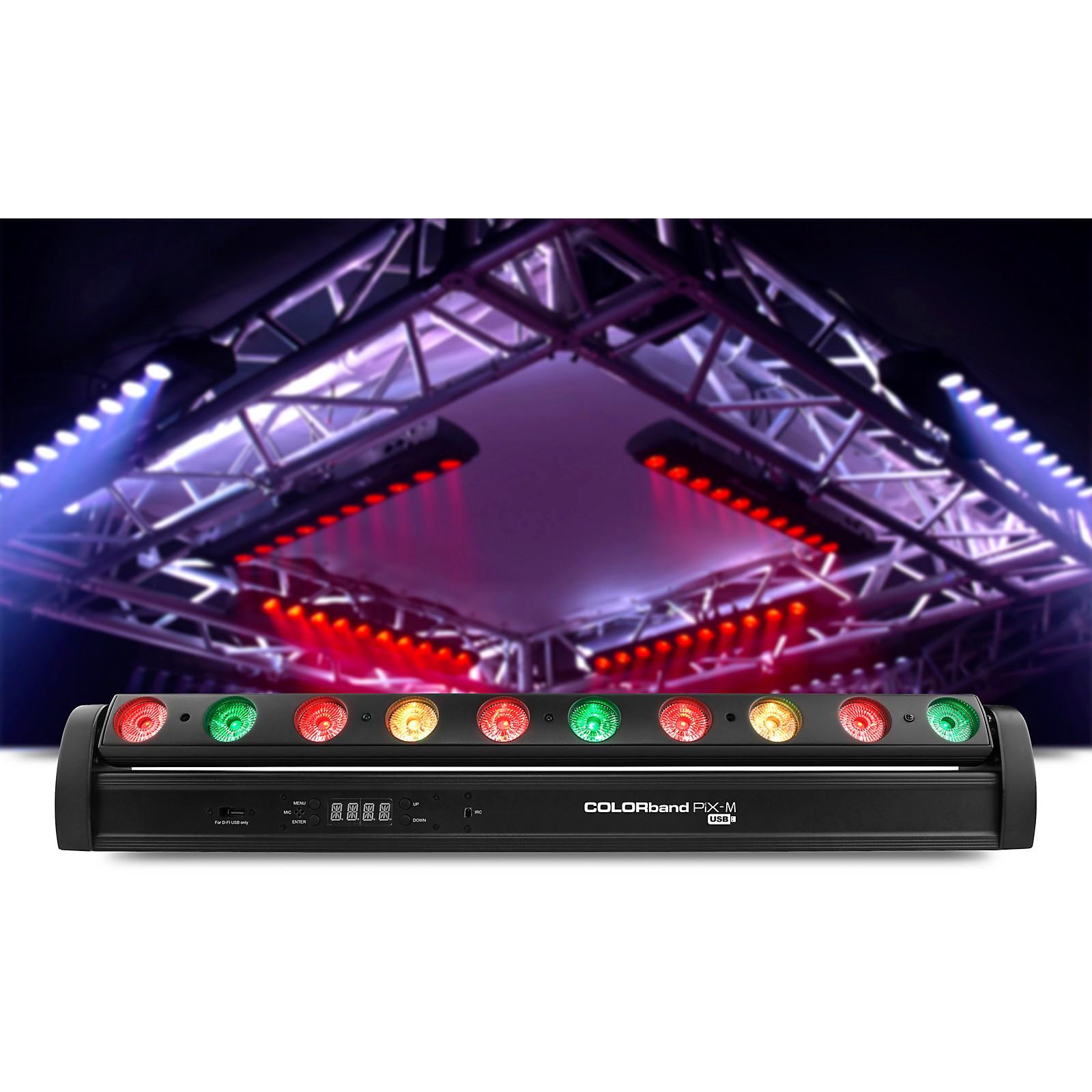 CHAUVET DJ COLORband PIX USB RGB LED Wash Light Bar with Pixel Mapping