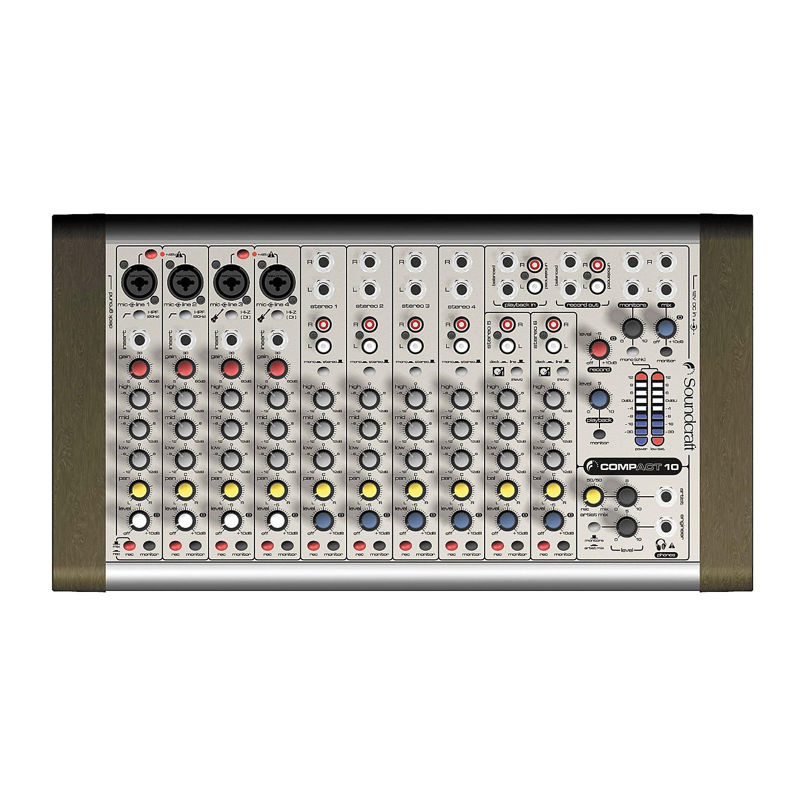 Soundcraft COMPACT 10 Mixer