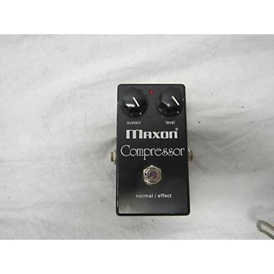 Maxon COMPRE Bass Effect Pedal