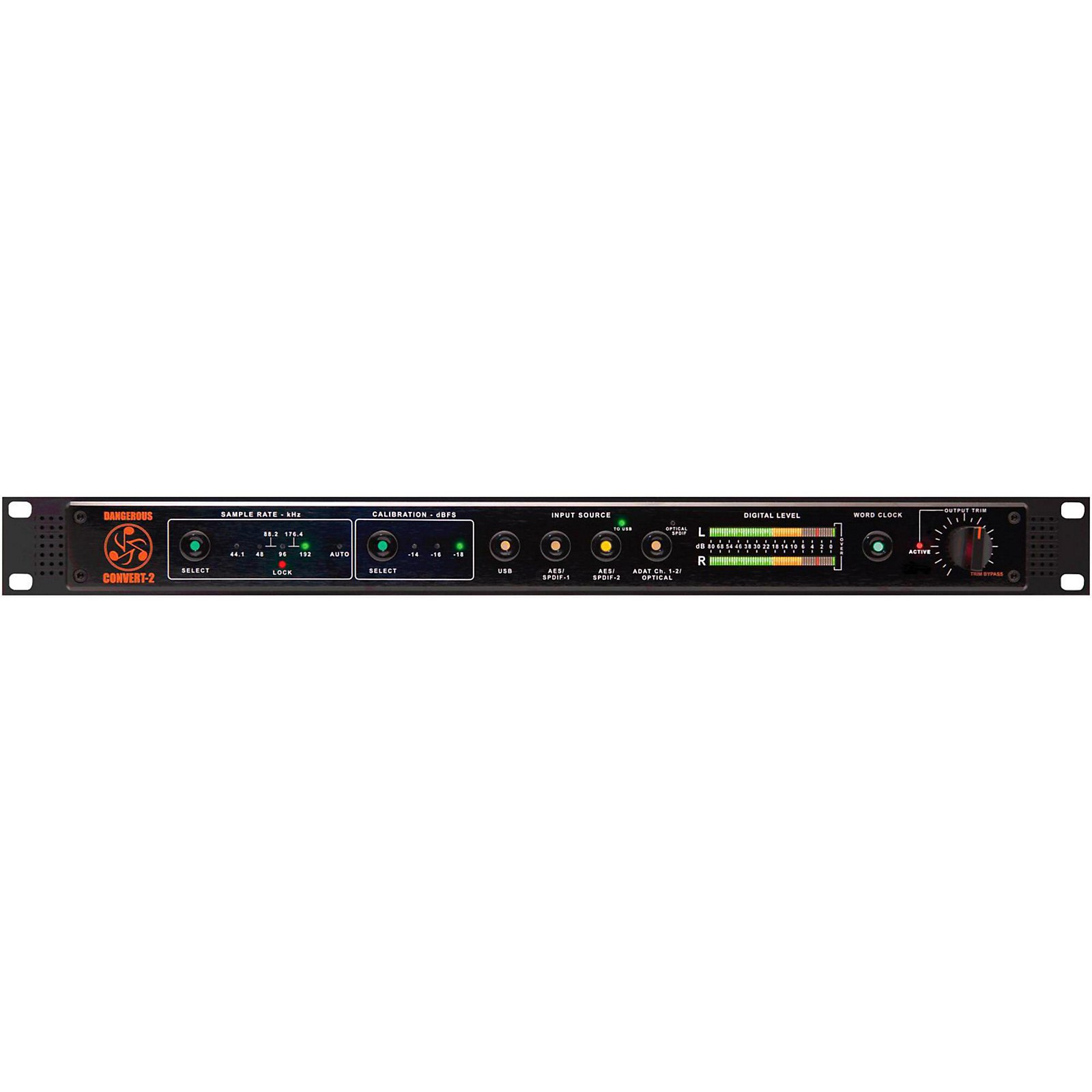 Dangerous Music CONVERT-2 Two-Channel Reference Grade Digital to Analog Converter
