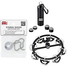 Meinl CP3 Cymbal Accessory Pack with Hi-Hat Tambourine, Magnetic Cymbal Tuners and Free Bacon Sizzler