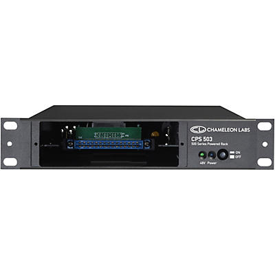 Chameleon Labs CPS503PWR 500 Series Single Powered Rack