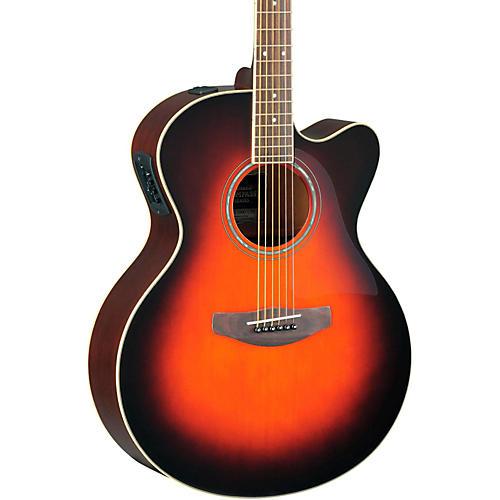Yamaha CPX500II Medium-Jumbo Cutaway Acoustic-Electric Guitar