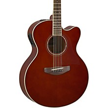 CPX600 Medium Jumbo Acoustic-Electric Guitar Root Beer