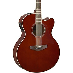 yamaha cpx600 medium jumbo acoustic electric guitar black musician 39 s friend. Black Bedroom Furniture Sets. Home Design Ideas