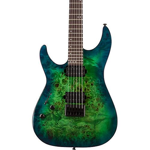 Schecter Guitar Research CR-6 Left-handed Electric Guitar Aqua Burst