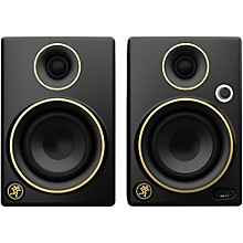 Open BoxMackie CR3 Limited Edition Gold Trim 3 in. Multimedia Monitors (Pair)