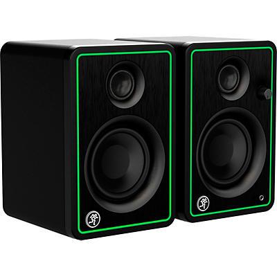 "Mackie CR3-X 3"" Active 50W Multimedia Studio Monitors, Pair"