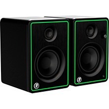 """Open BoxMackie CR4-XBT 4"""" Active 50W Multimedia Monitors with Bluetooth, Pair"""