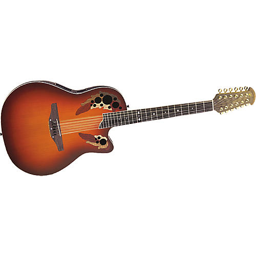 Ovation CS255-HBK Celebrity Acoustic Electric Guitar Honey Burst 12-str