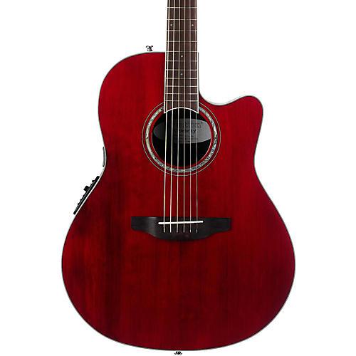Ovation Cs28 Celebrity Standard Acoustic Electric Guitar Transparent