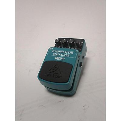 Behringer CS400 Compressor Sustainer Effect Pedal