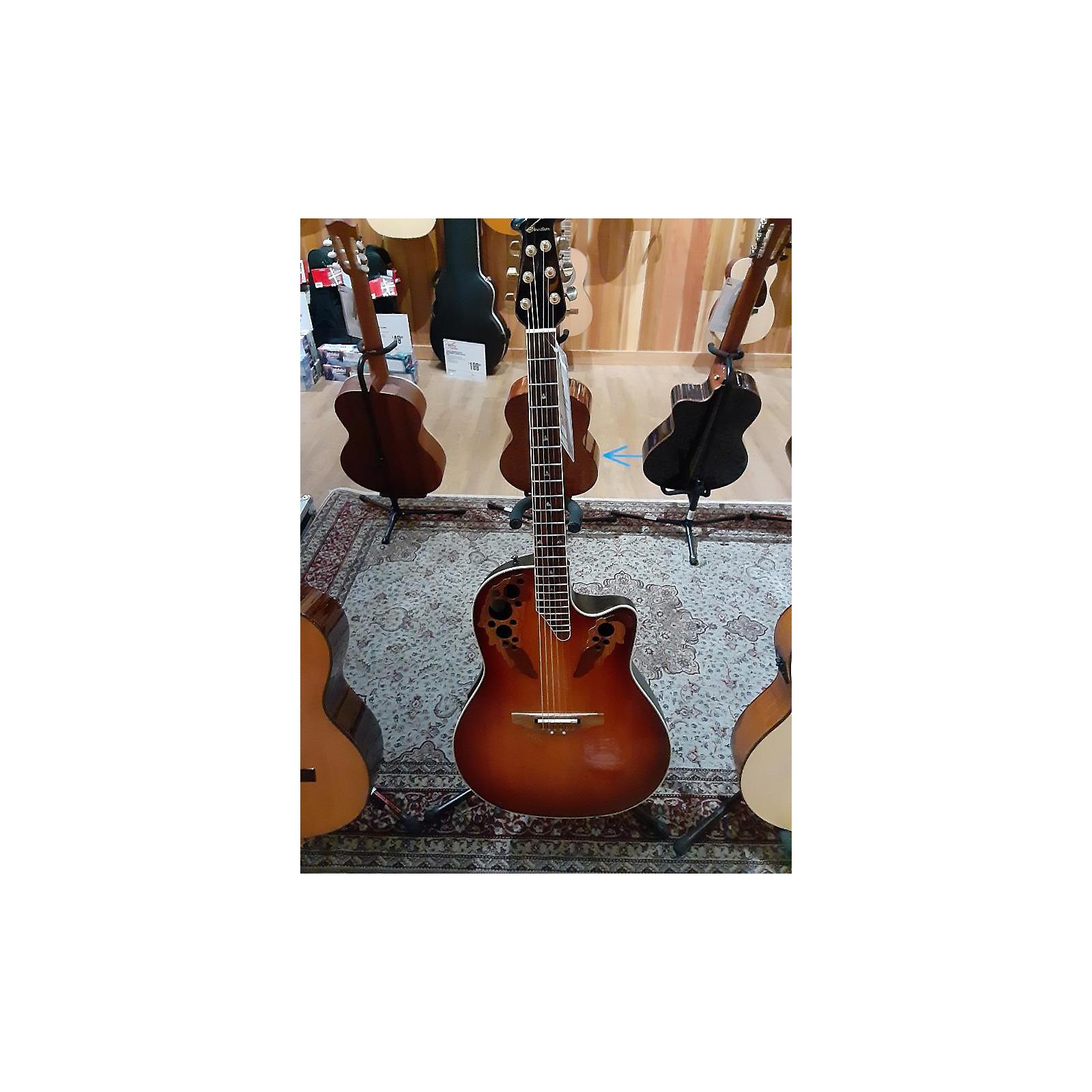 Ovation CSE 44 Acoustic Electric Guitar