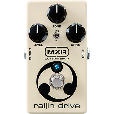 MXR Custom Shop CSP037 Raijin Drive Overdrive/Distortion Effects Pedal