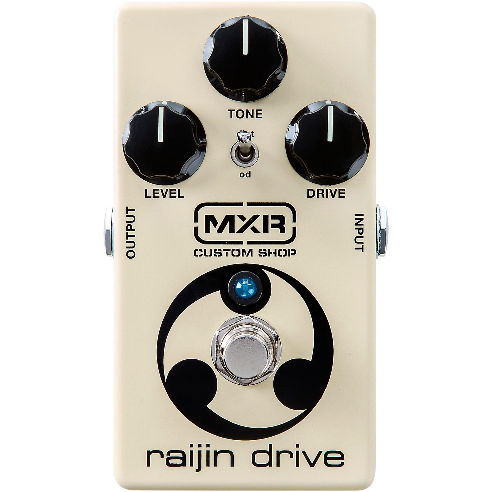 MXR Custom Shop CSP037 Raijin Drive Overdrive/Distortion Effects Pedal