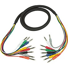 "Hosa CSS-802 Balanced 1/4""-1/4"" 8-Channel Cable"