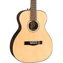Open BoxFender CT-140SE with Case Travel Acoustic-Electric Guitar Natural