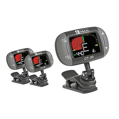 Deltalab CT-30 Clip-On Tuner - 2 Pack