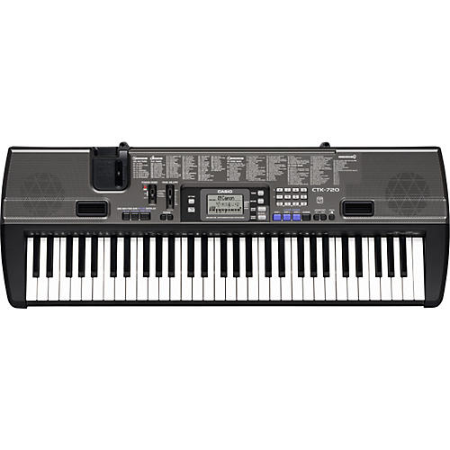 casio ctk 720 61 key portable keyboard musician 39 s friend. Black Bedroom Furniture Sets. Home Design Ideas