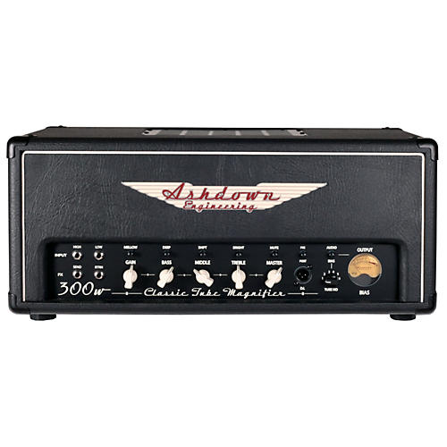 Ashdown CTM-300 Classic Tube Magnifier All Tube Bass Head
