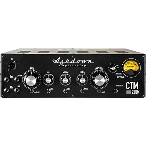 Ashdown CTM200 200W Rackmount Bass Amp Head Black