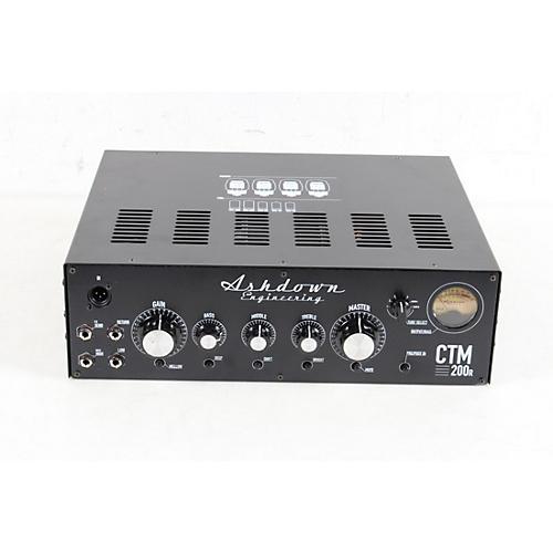 Ashdown CTM200 200W Rackmount Bass Amp Head Condition 3 - Scratch and Dent Black 194744331428