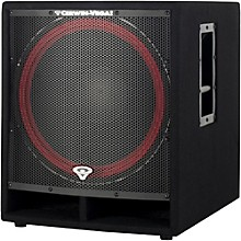 "Open Box Cerwin-Vega CVi-118S 18"" Passive Portable PA Speaker"