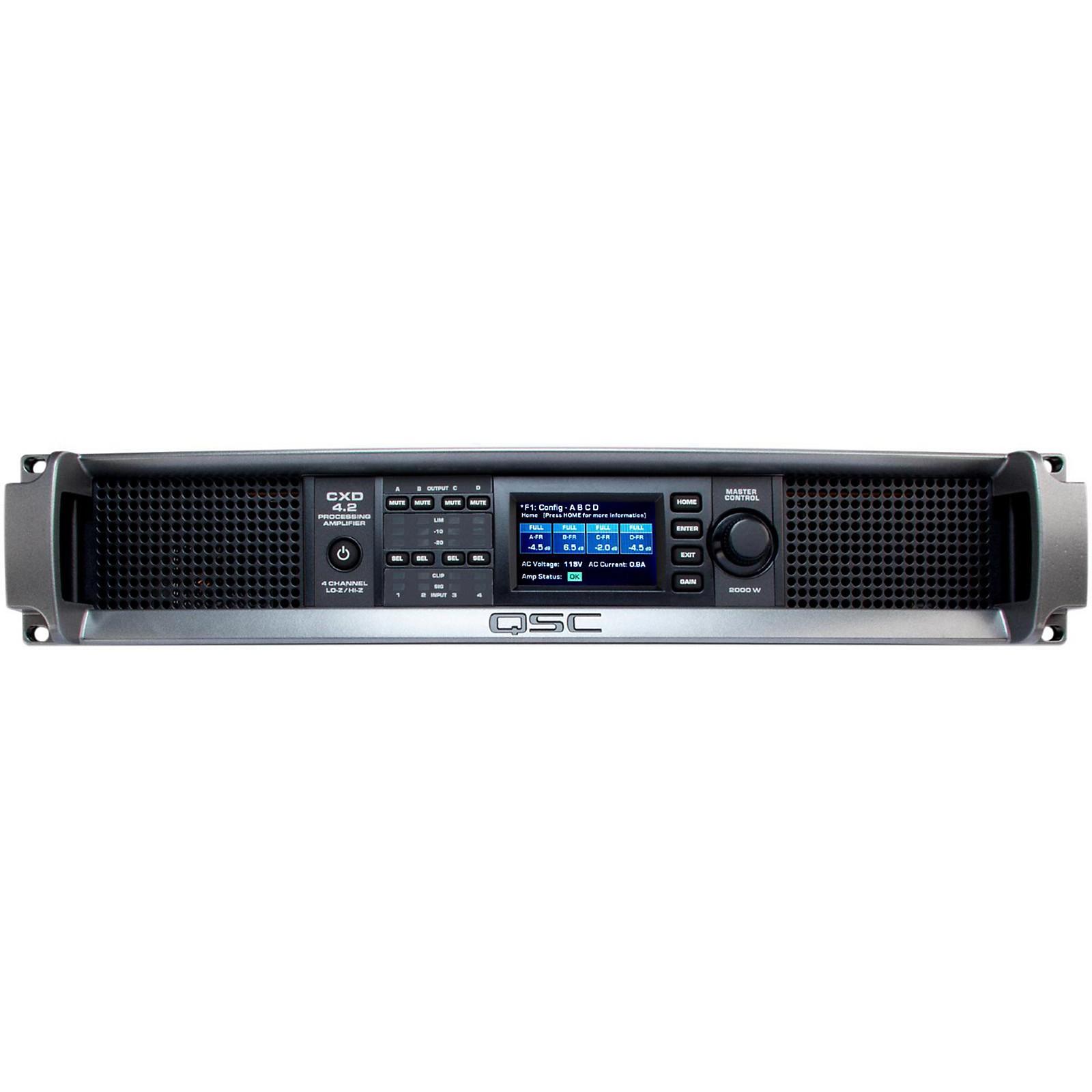 QSC CXD4.2 Multi Channel DSP Amplifier