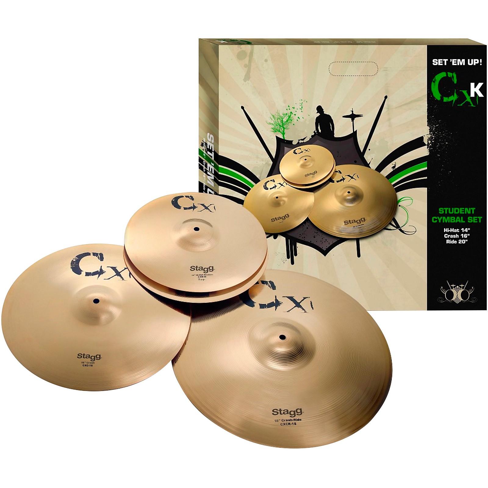 Stagg CXK Cymbal Set