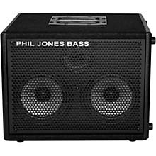 Open BoxPhil Jones Bass Cab 27 200W 2x7 Bass Speaker Cab