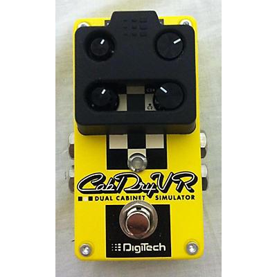 DigiTech CabDryVR Effect Pedal