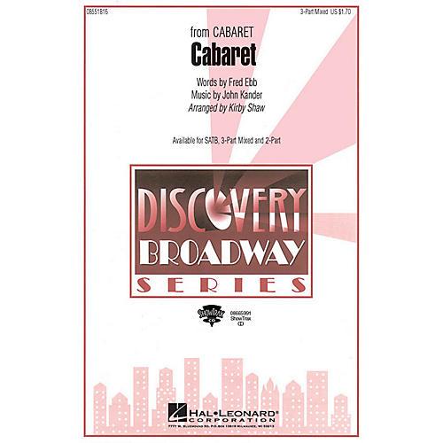 Hal Leonard Cabaret ShowTrax CD Arranged by Kirby Shaw