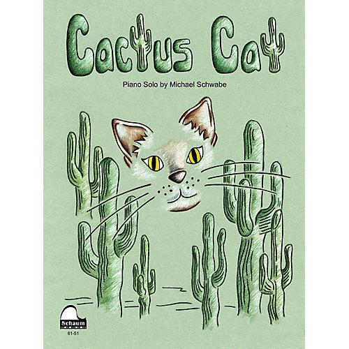 SCHAUM Cactus Cat Educational Piano Series Softcover