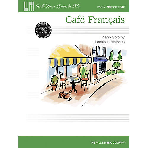 Willis Music Café Français Willis Series by Jonathan Maiocco (Level Early Inter)