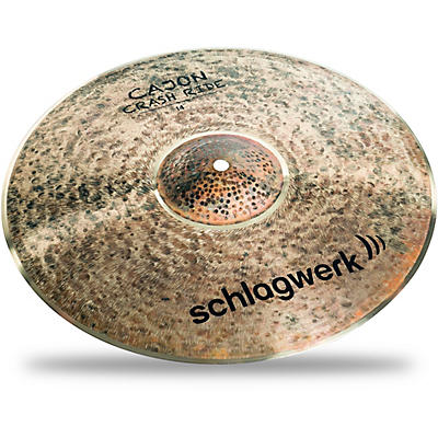 SCHLAGWERK Cajon Crash/Ride Cymbal