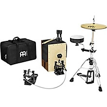 Open BoxMeinl Cajon Drum Set with Cymbals and Hardware