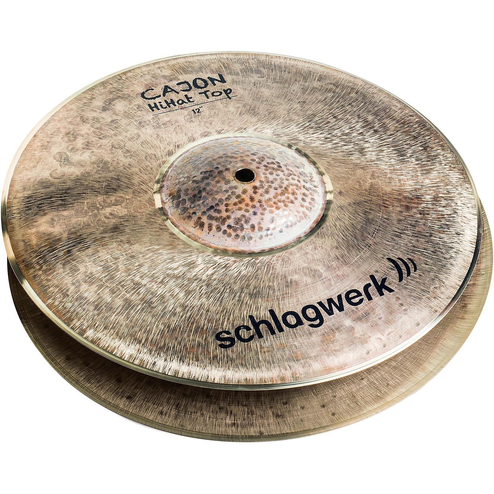 SCHLAGWERK Cajon Hi-Hat Cymbals