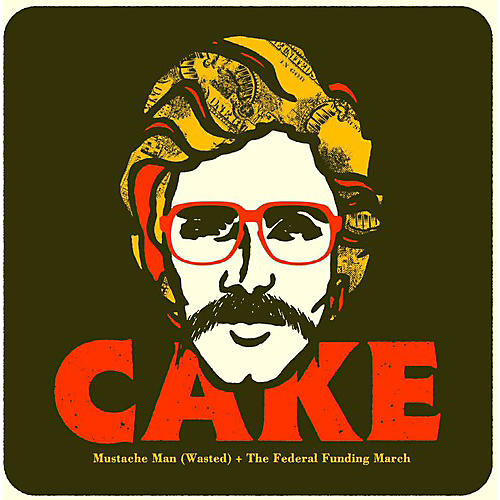Alliance Cake - Mustache Man (Wasted)