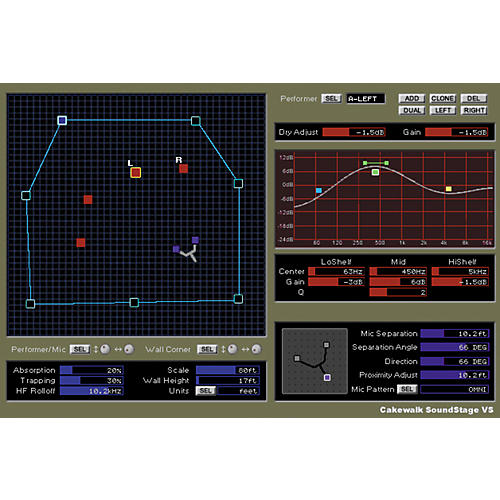 Roland Cakewalk Soundstage VS Plug-In