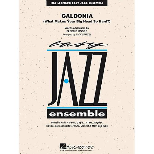 Hal Leonard Caldonia - Easy Jazz Ensemble Series Level 2