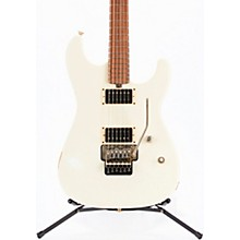 Cali Aged Rosewood Fingerboard Electric Guitar Vintage White