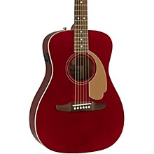 California Malibu Player Acoustic-Electric Guitar Candy Apple Red