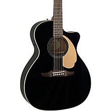 California Newporter Player Acoustic-Electric Guitar Jetty Black