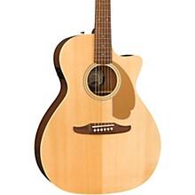 California Newporter Player Acoustic-Electric Guitar Natural