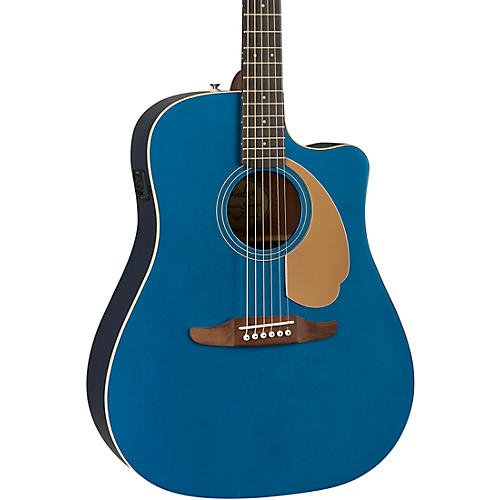 fender california redondo player acoustic electric guitar belmont blue musician 39 s friend. Black Bedroom Furniture Sets. Home Design Ideas